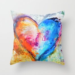 The Patience of Love Throw Pillow