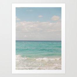 Caribbean Sea Art Print