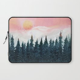 Forest Under the Sunset Laptop Sleeve