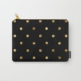 Black & Gold Carry-All Pouch