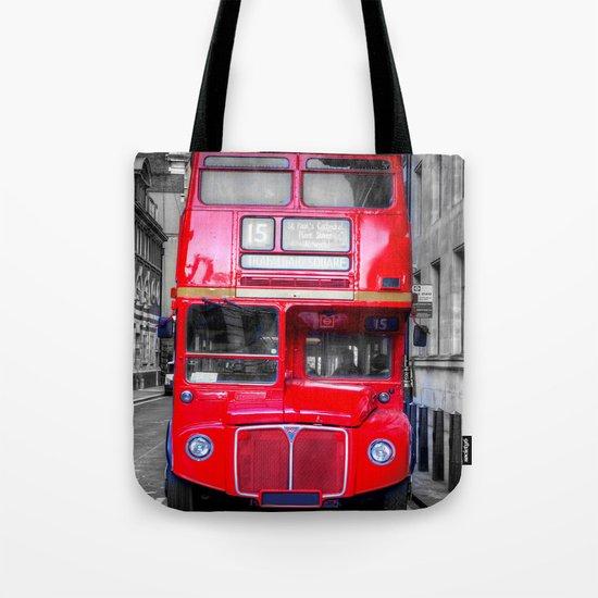 London Routemaster Tote Bag