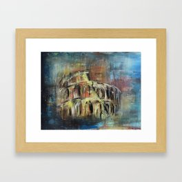 Abstract Rome Framed Art Print