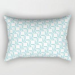 Boxes Pixel Rectangular Pillow