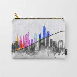 Color New York Skyline 06 Carry-All Pouch