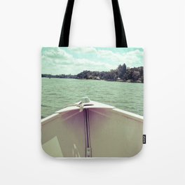 Sometime This Life, I'm Going to Sail Away Tote Bag