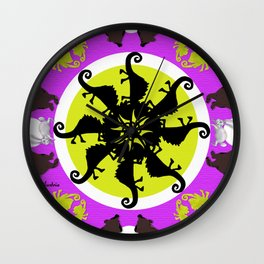 ronda lila Wall Clock