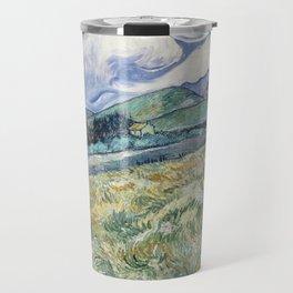 Vincent van Gogh Landscape Saint-Rémy Travel Mug