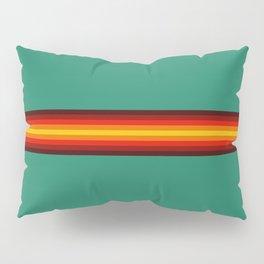 Pauwa - Classic Colorful Retro 70s Vintage Style Stripes Pillow Sham