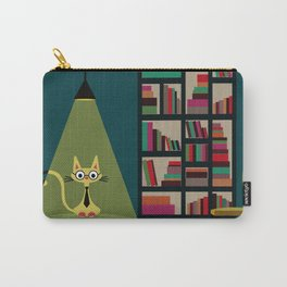 intellectual cat Carry-All Pouch