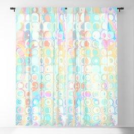 Sunday Morning Pastel Fractal Pattern Blackout Curtain