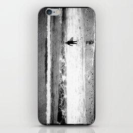 Man versus Nature ~ Surfer iPhone Skin