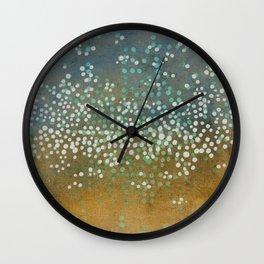 Landscape Dots - Float Wall Clock