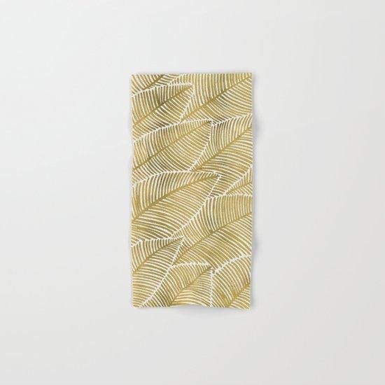 Tropical Gold Hand & Bath Towel
