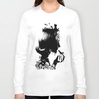 soldier Long Sleeve T-shirts featuring WOMAN SOLDIER by kravic