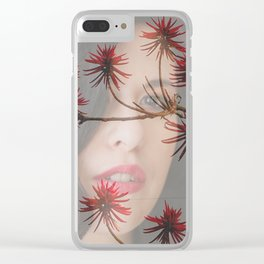 Lisa Marie Basile, No. 70 Clear iPhone Case