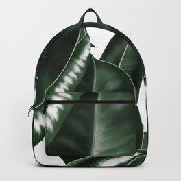 Big leaves white Backpack