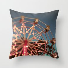 There is a Light That Never Goes Out Throw Pillow
