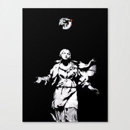 Holy Guns Canvas Print