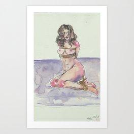1/16   BDSM Watercolor Series Art Print