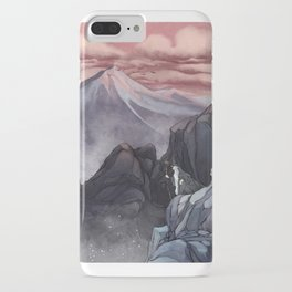 Roads go Ever Ever On iPhone Case