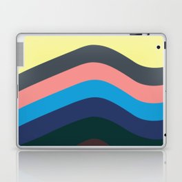 Retro Californian Waves Laptop & iPad Skin