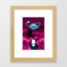 Cheshire smile Framed Art Print