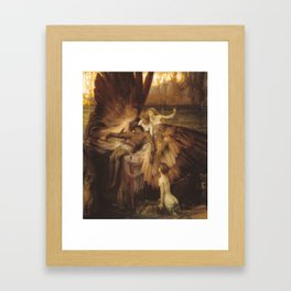 The Lament for Icarus by Herbert James Draper, 1898 Framed Art Print