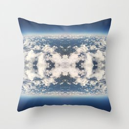 Lush Skies Throw Pillow