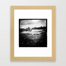 Summer Falls Framed Art Print