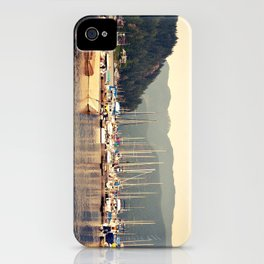 deep cove harbor iPhone Case