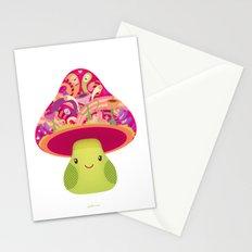 Mrs. Shroom Stationery Cards