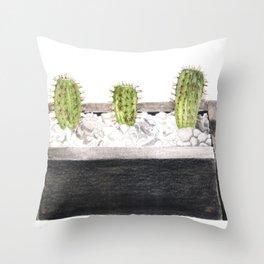 Cacto Throw Pillow