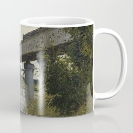 The Railroad bridge in Argenteuil Coffee Mug