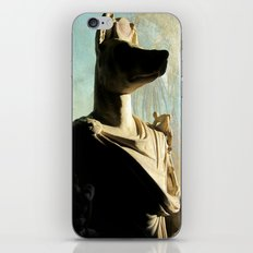 Gone to meet Anubis. iPhone & iPod Skin