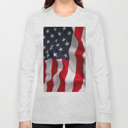 American Flag - the Stars and Stripes Long Sleeve T-shirt