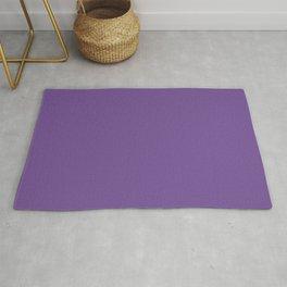 Dark Lavender Violet Rug