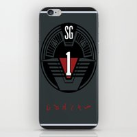 stargate iPhone & iPod Skins featuring Stargate SG1 by Winter Graphics