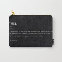 Typer Carry-All Pouch
