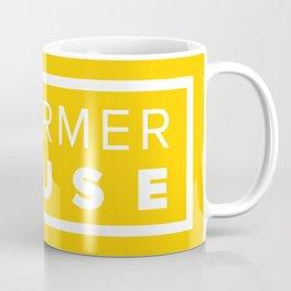 Reformer House White on Yellow Coffee Mug