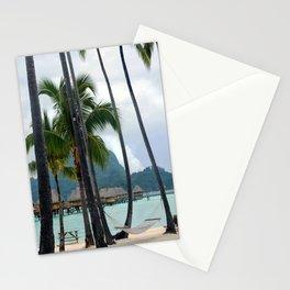 Bora Bora Tahiti Hammock Time Stationery Cards