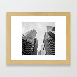 City #03 Framed Art Print