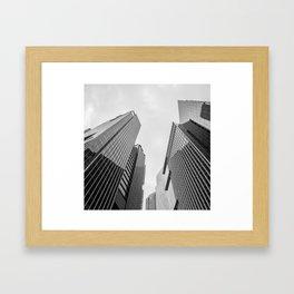 City #03 Framed Art Print