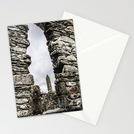 Travel to Ireland: Through the Glendalough Window Stationery Cards