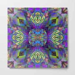Kaleidoscopic Muse Metal Print