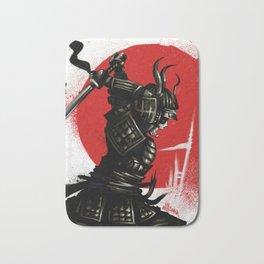 Samurai Invader Bath Mat