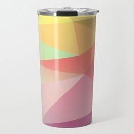 geometric V Travel Mug