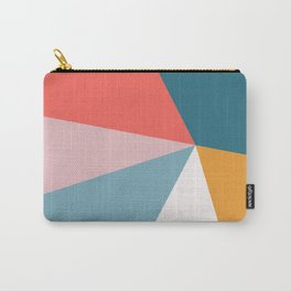 Modern Geometric 34 Carry-All Pouch