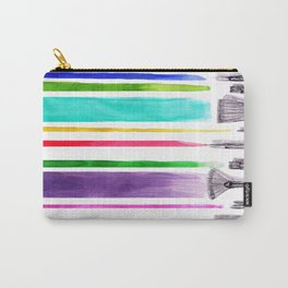 Paint brushes Carry-All Pouch