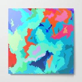 Abstract World Metal Print