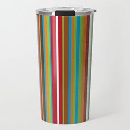 Festive Stripes Travel Mug